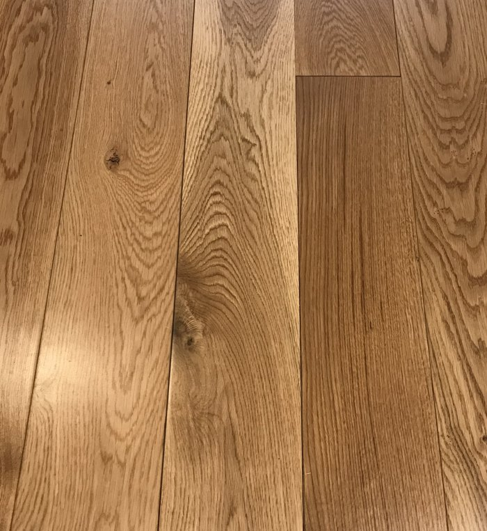150mm Rustic Oak Lacquered