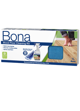 Bona Wood Floor Cleaning Kit (Including Mop)