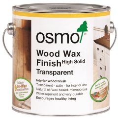 Osmo Wood Wax Finish Transparent 2.5L
