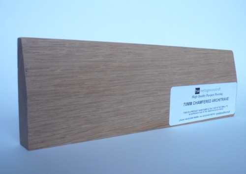 Oak Architrave Chamfered 70mm