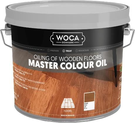 WOCA Master Colour Oil White 2.5L