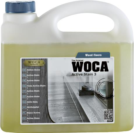 WOCA Active Stain No.3 - 2.5L