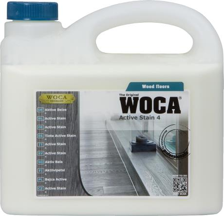 WOCA Active Stain No.4 - 2.5L