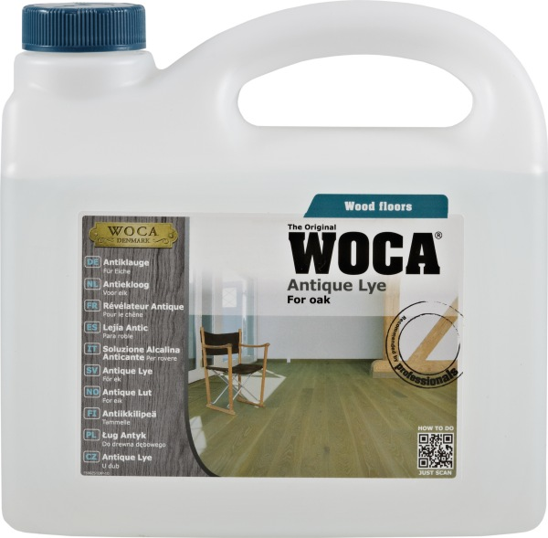 WOCA Antique Wood Lye 2.5 L