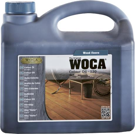 WOCA Colour Oil Black 2.5L