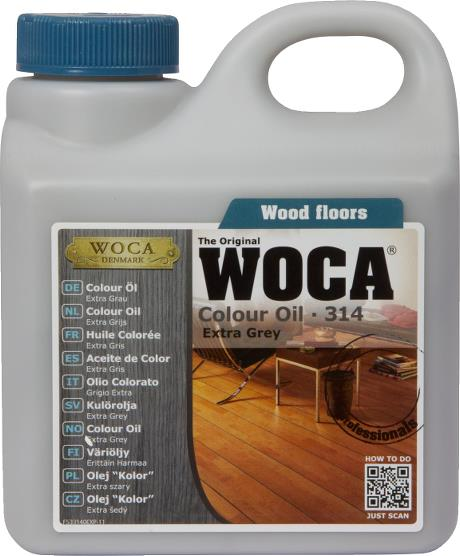 WOCA Colour Oil Extra Grey 1L