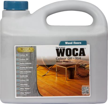 WOCA Colour Oil Extra Grey 2.5L