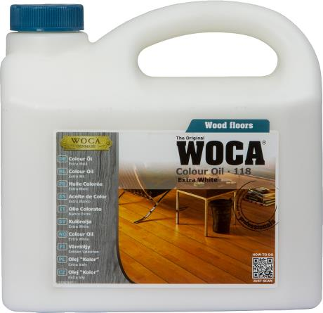 WOCA Colour Oil Extra White 2.5L