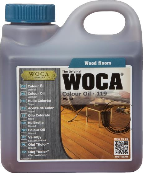 WOCA Colour Oil Walnut 1L