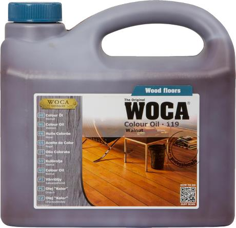 WOCA Colour Oil Walnut 2.5L
