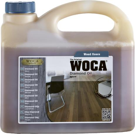 WOCA Diamond Oil Natural 2.5L