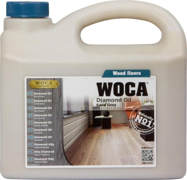 WOCA Diamond Oil Sand Grey 2.5L