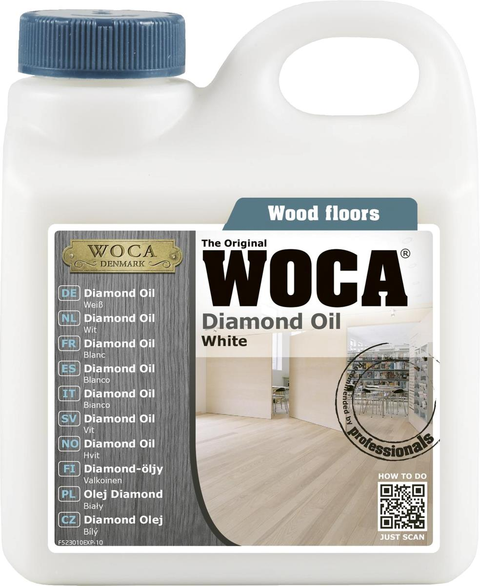 woca diamond oil extra white 1l only inc vat and delivery at floor sales online. Black Bedroom Furniture Sets. Home Design Ideas