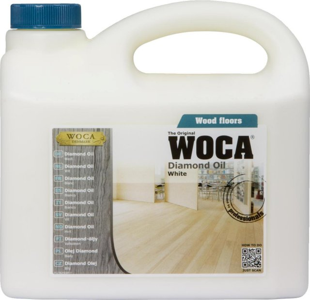 woca diamond oil white 2 5l only inc vat and delivery at floor sales online. Black Bedroom Furniture Sets. Home Design Ideas
