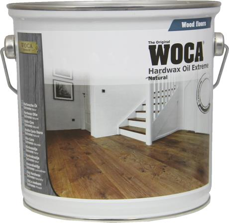 WOCA Hardwax Oil Natural 2.5L