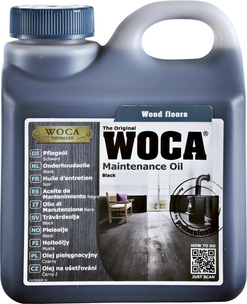WOCA Maintenance Oil Black 1L