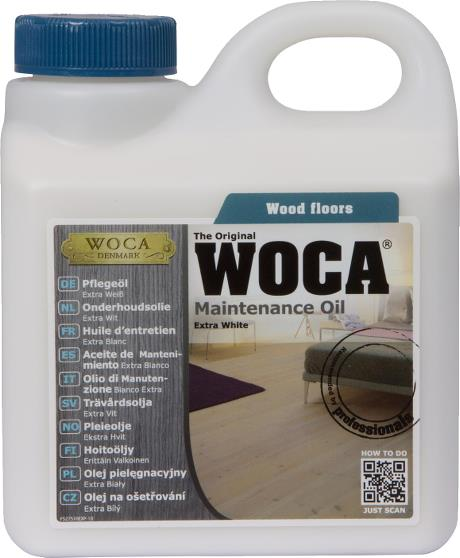 WOCA Maintenance Oil Extra White 1L