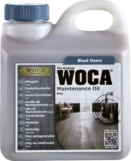 WOCA Maintenance Oil Grey 1L