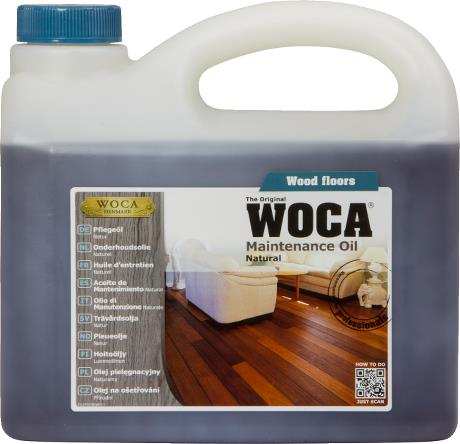 WOCA Maintenance Oil Natural 2.5L