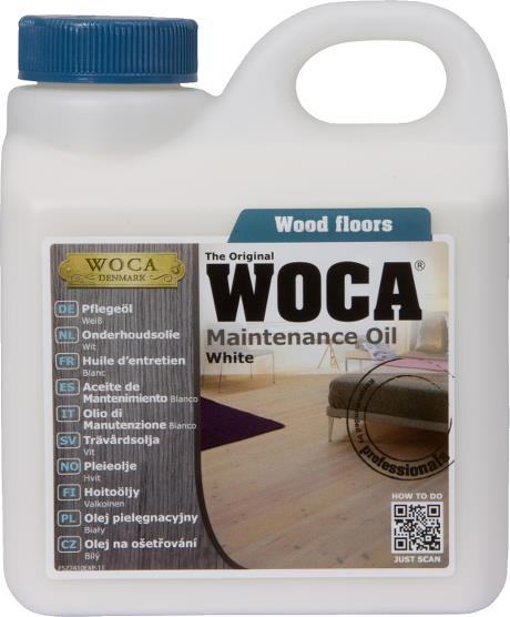 WOCA Maintenance Oil White 1L