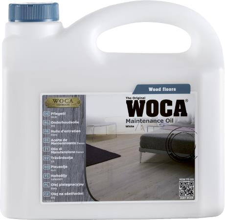 WOCA Maintenance Oil White 2.5L
