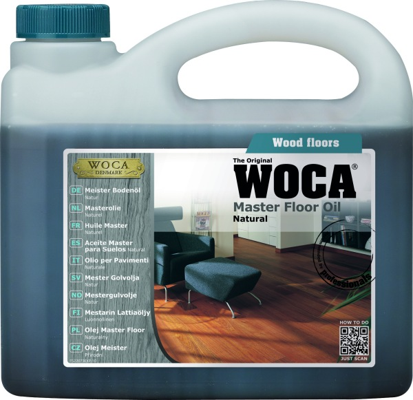 WOCA Master Floor Oil Natural 2.5L