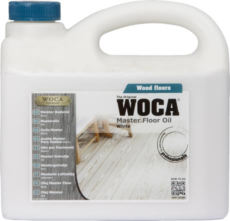 WOCA Master Floor Oil White 2.5L