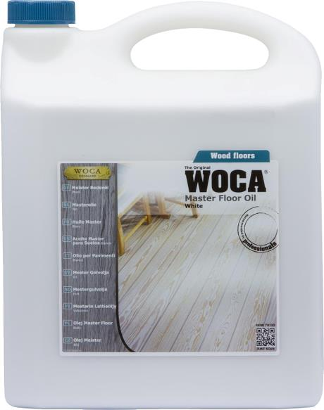 WOCA Master Floor Oil White 5L