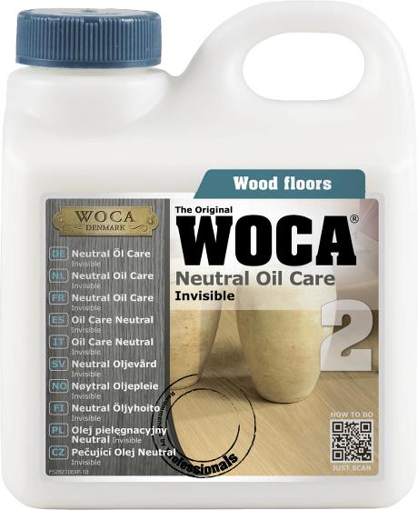 WOCA Maintenance Oil Natural 1L
