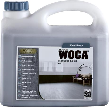 WOCA Natural Soap (Grey) 5L