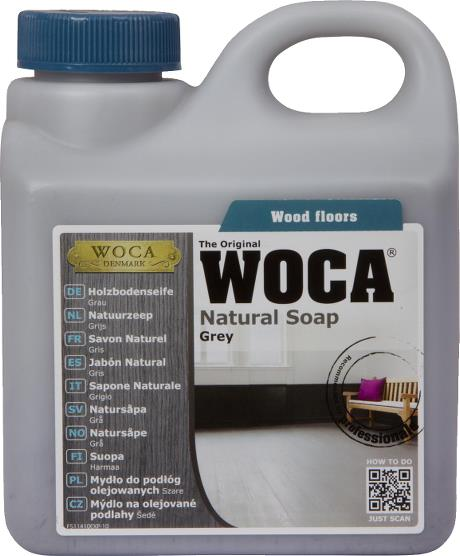 WOCA Natural Soap (Grey) 1L