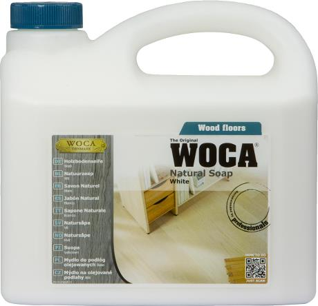 WOCA Natural Soap (White) 2.5L