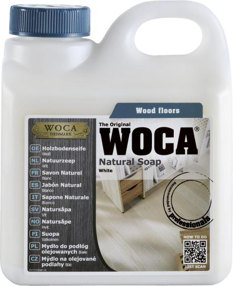 WOCA Natural Soap (White) 1L
