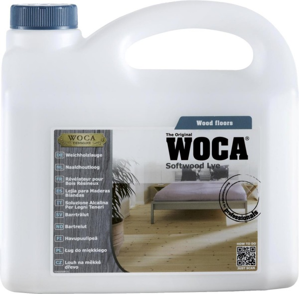 WOCA Softwood Wood Lye 2.5L