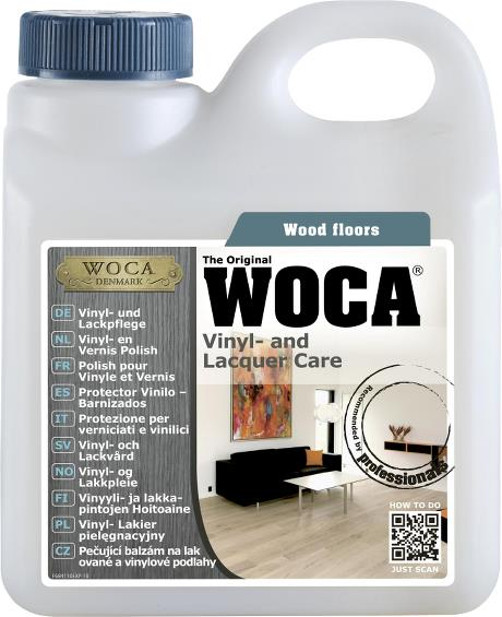 WOCA Vinyl and Lacquer Care (Natural) 1L